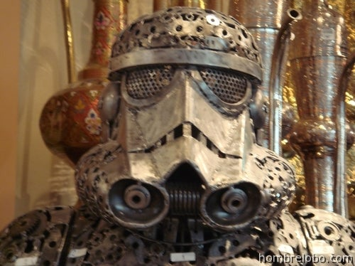 Steampunkish Stormtrooper, Boba Fett and Alien Look Almost Scarier Than the Originals