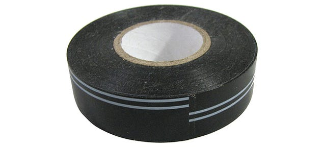 Striped Electrical Tape Makes It Easy To Find the Starting Edge