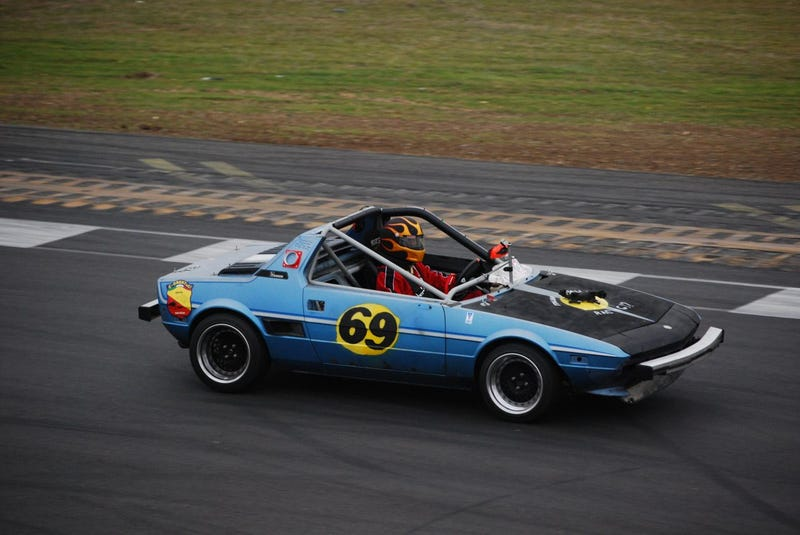 Italian Stallions' Fiat X1/9 Totally Reliable At LeMons, Other Than The Blown Head Gasket