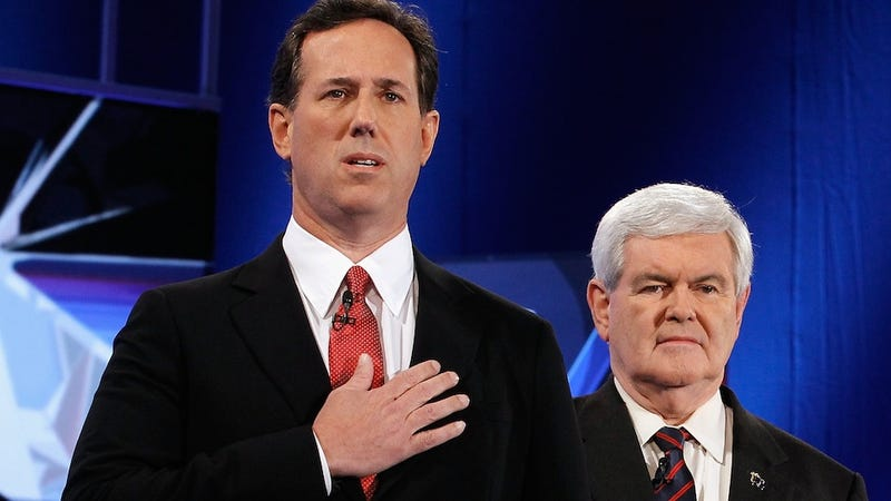 Newt Gingrich and Rick Santorum Could Have Been America's Co-President