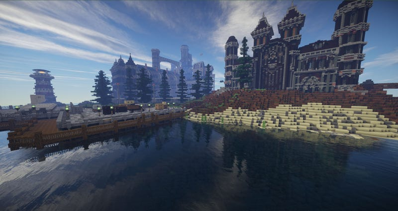 Minecraft Prison Map Available For Download