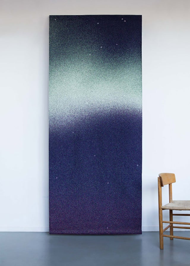 These Glow-in-the-Dark Curtains Put the Northern Lights On Your Windows