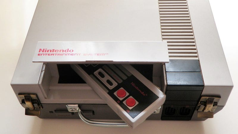 This NES Is A Briefcase. The Controller Is A Wallet.