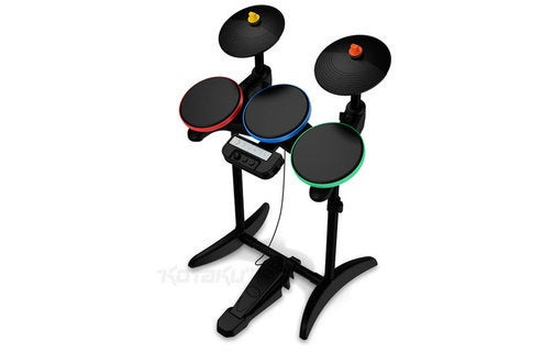 Guitar Hero 5 Official Drumset Has More Realistic Cymbals