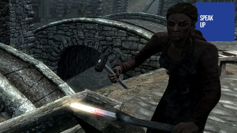 Requiem for a Skyrim Blacksmith
