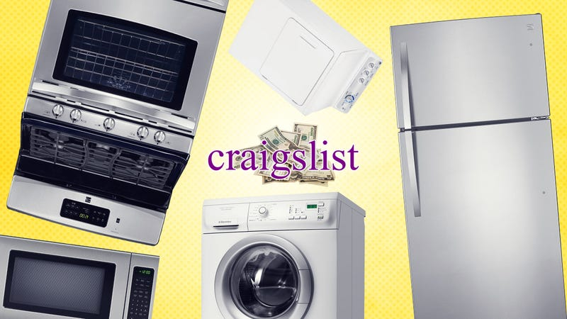 How I Earn My Living Buying and Selling Appliances on Craigslist