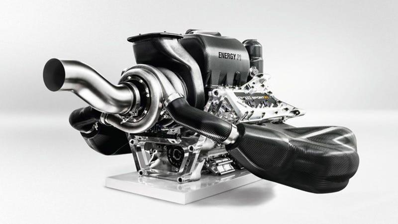 Así es el avanzado motor híbrido de la Fórmula 1 para 2014
