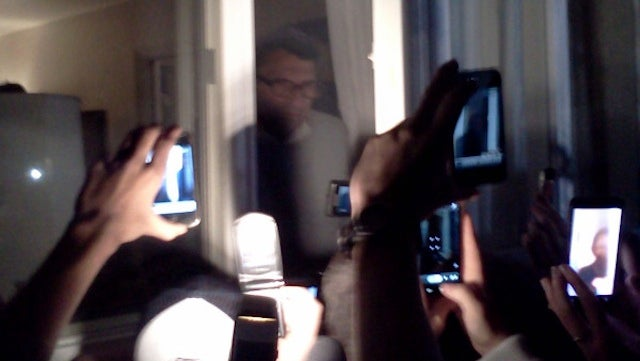 A Weeping Joe Paterno Just Spoke To Students Gathered Outside His Living Room Window (UPDATED)
