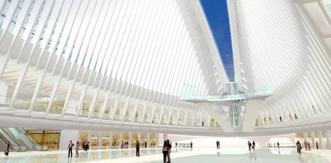New WTC Transport Hub: One Part Memorial, One Part Stegosaurus From Space