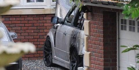 Lady-Striking Striker's Car Gets Torched