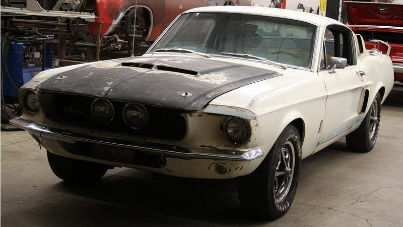 1967 Shelby GT500 Revived After 25 Years In Death Valley