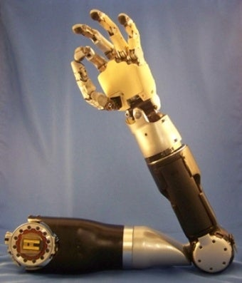 Ready for human testing: DARPA's versatile prosthetic limb, controlled by user's thoughts