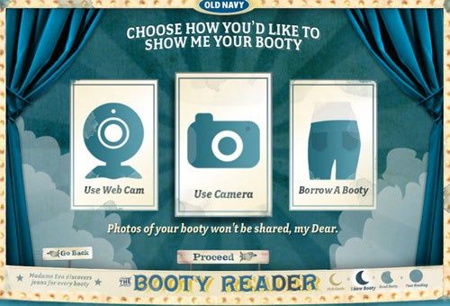 Old Navy's Booty Reader Wants Pictures Of Your Ass