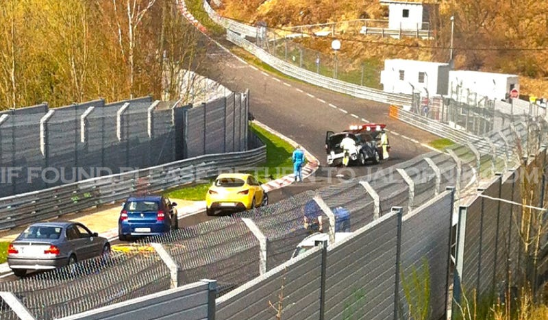 Off-Road Gods Punish Range Rover Sport Testing On The Nurburgring