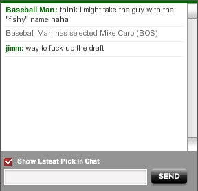 Dude Purposely Ruins Mock Baseball Drafts For Our Delight
