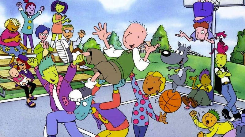 Why Was Doug from Doug White When Everyone Else Was Multicolored?