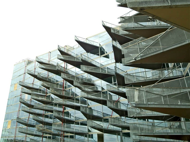 I Want to Stand on These Incredible Balconies and Take in the View