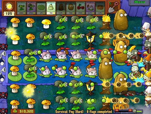 Plants vs Zombies, iPhone, January