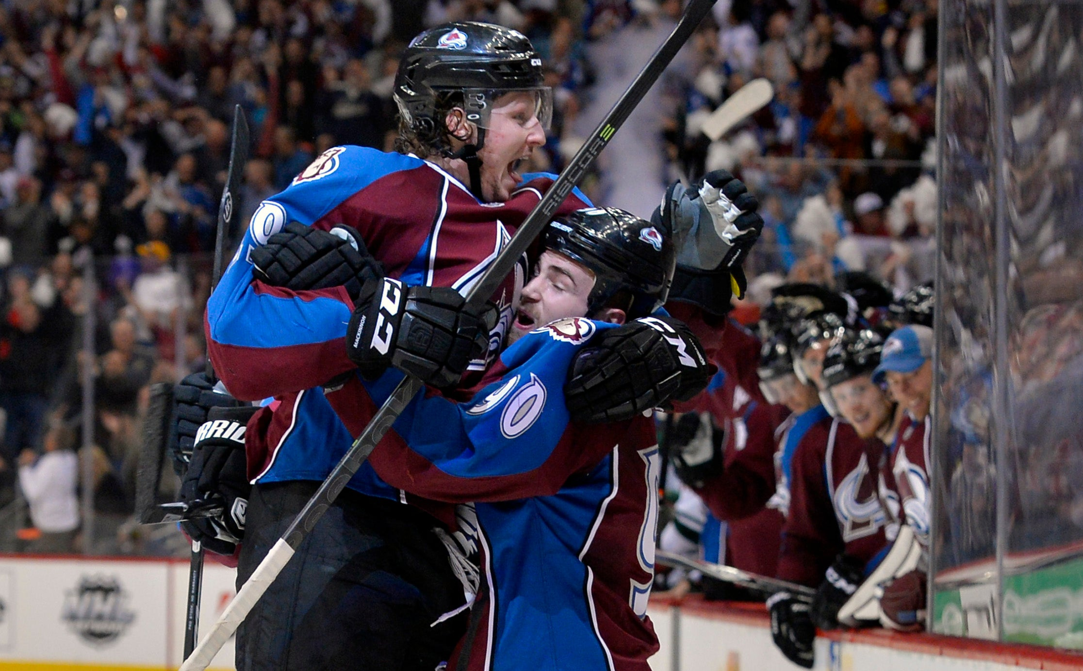 Nathan MacKinnon Shows The Grown-Ups How It's Done