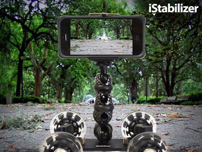 Get 40% off the iStabilizer Dolly for iPhone, Smartphones, & DSLR