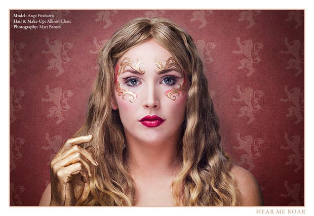Outstanding Game of Thrones Make-Up Inspired By Each House
