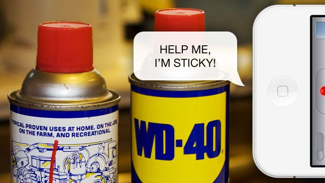 WD-40 Will Loosen Up Your Unresponsive iPhone's Home Button in Seconds