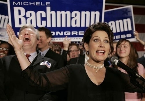 Michele Bachmann Predicts Future, Calls Obama 'Anti-American' Again