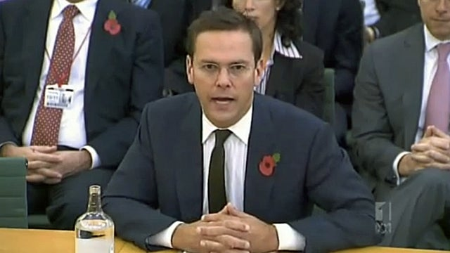 Noted Sociopath James Murdoch Explains to Parliament That Everyone Is Lying But Him