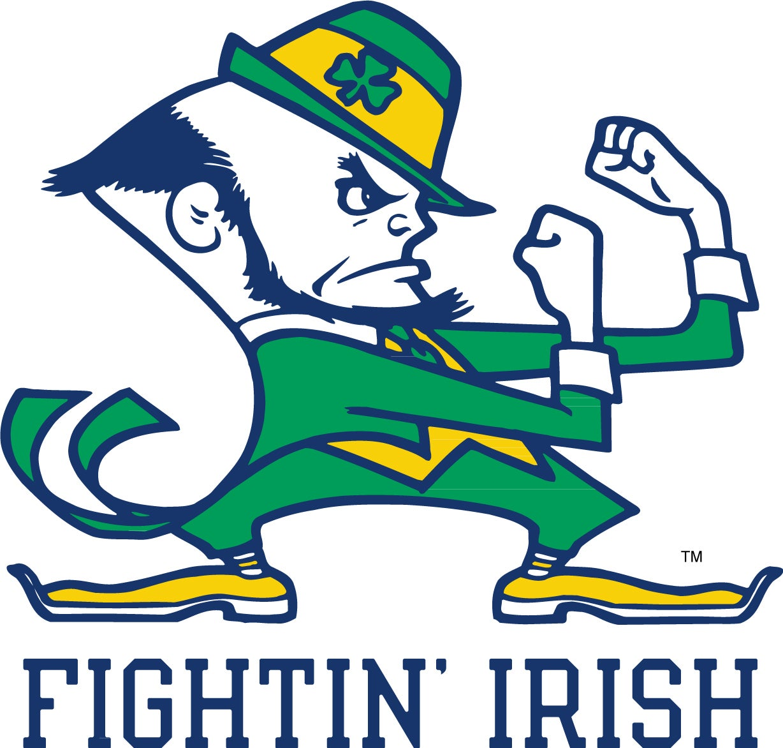 University Of Notre Dame Logo Clip Art Logos clip art football