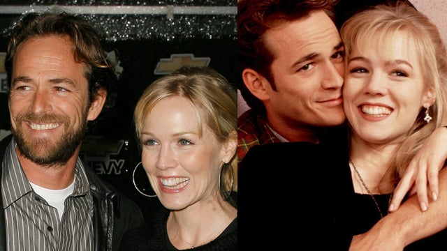 Old Navy Brings Jennie Garth and Luke Perry Together, Finally