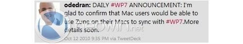 Macs to Finally Gain Zune Software Support