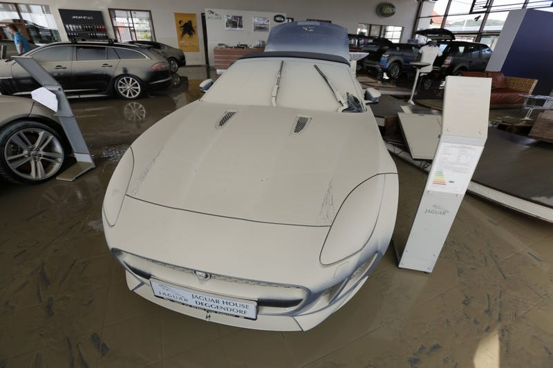 Bavarian Flooding Murders An Innocent Jaguar F-Type
