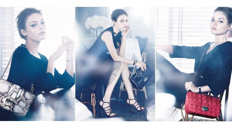 Mila Kunis Bags Dior Campaign