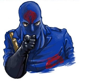 Cobra Commander's Hideously Disappointing Face Revealed
