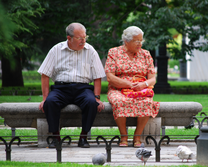 Old People Now Living in Sin Also
