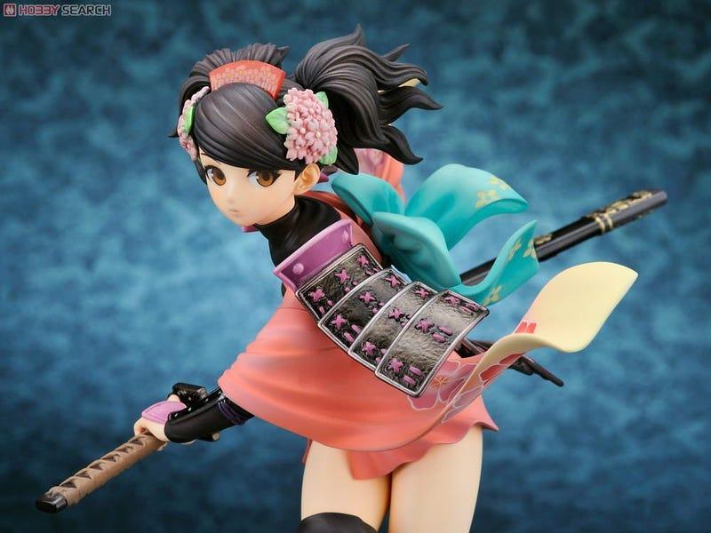 Muramasa Returns With Colourful, Yet Tasteful Figure