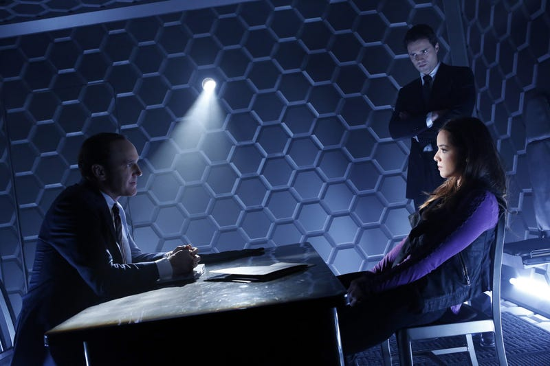 The Agents of SHIELD pilot hits the ground walking