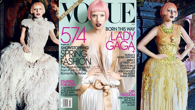 Lady Gaga Debuts New Look for Vogue Cover