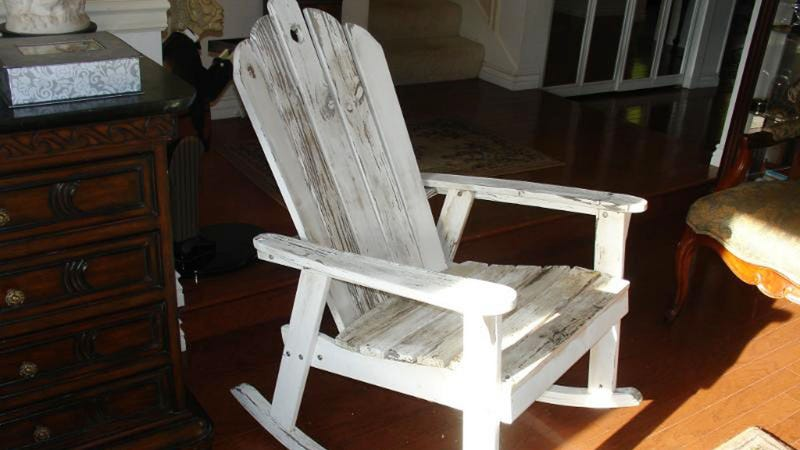 How Much is Jesus' Face on a Rocking Chair Worth?