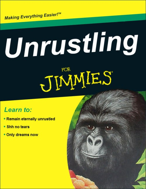 The jimmies should remain unrustled