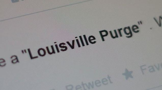 "Louisville Teen Starts Hoax on Twitter About a ""Purge"""
