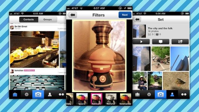 Flickr for iPhone Gets a Redesign, Camera Filters, Group Support, and More