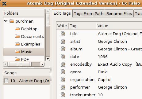 Organize MP3 Metadata with Ex Falso