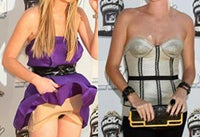 MTV Movie Awards Fashion Trends: Cleavage, Kinky Boots, And Oops! Lindsay Lohan's Thong