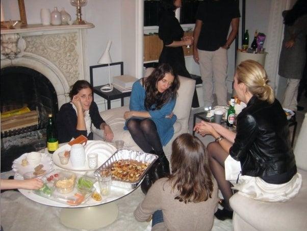 Inside Domino's Magazine Fold Party