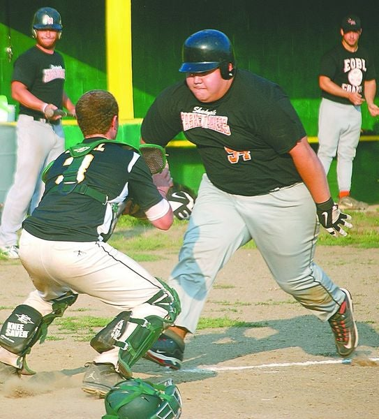 If You Are A Catcher In The Steele and Cook Insurance Ohio Valley Baseball League, This Image Is Not What You Want To See