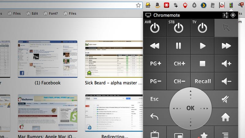 Chromemote Is a Google TV Remote That Lives in Chrome