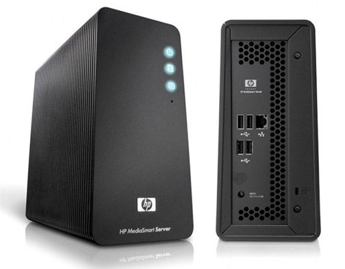 A Better Look at HP's Compact MediaSmart Server LX195