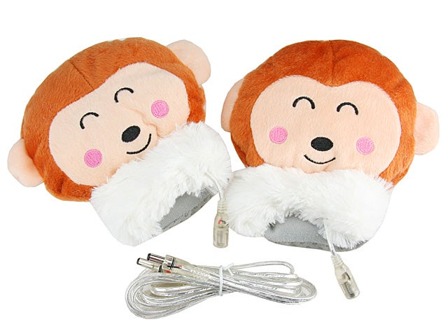 USB Monkey Hand Warmer Is For Your Hands, Not A Monkey's