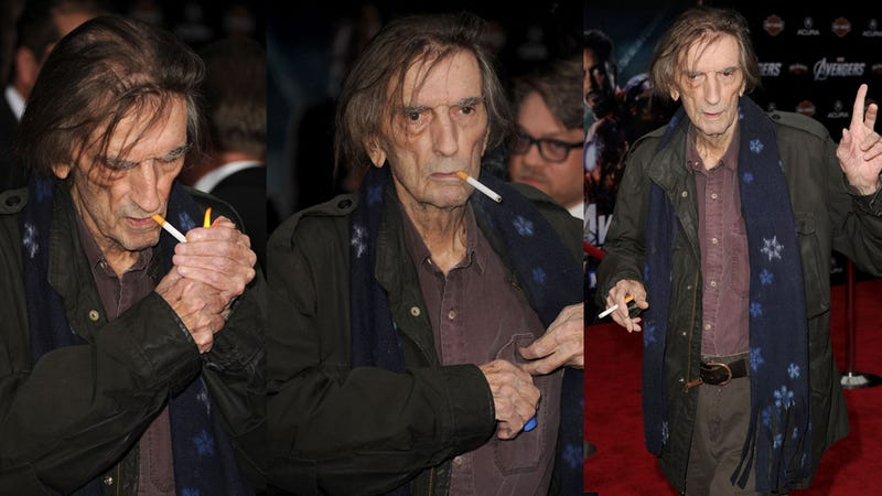 Harry Dean Stanton and Richard Grieco Haunt The Avengers Red Carpet